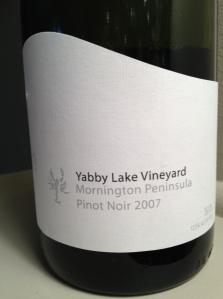 Yabby Lake Pinot Noir