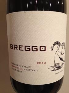 Breggo Cellars 2010 Ferrington Pinot Noir