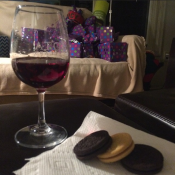 Why would Santa want milk with his cookies when he could have Yorkville Cellars Sweet Malbec?