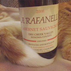 Our longtime love affair with the Rafanelli Cabernet (and Zin!) continues