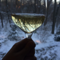 Trisaetum Riesling in a Glass Landscape