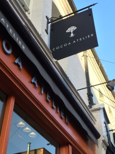 Maker of luscious confections, Cocoa Ateleir.