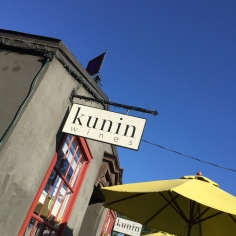 Kunin Wines Santa Barbara tasting room in The Funk Zone