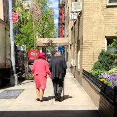 Strolling Midtown east. ©2015 Lucy Mathews Heegaard