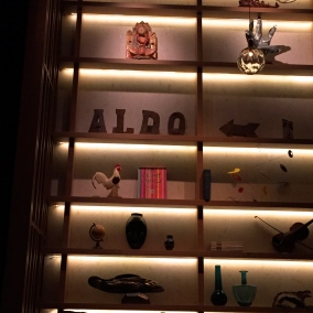 Decor at Aldo Sohm Wine Bar is fun, fresh with a resounding lack of pretention ©2015 Lucy Mathews Heegaard