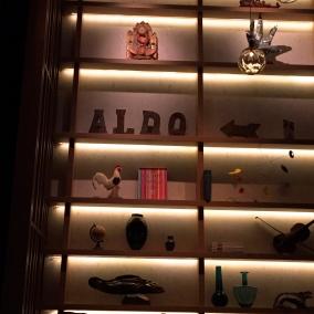 Decor at Aldo Sohm Wine Bar is fun, fresh with a resounding lack of pretention ©2015 Lucy Mathews Heegaard