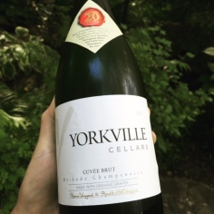 Sparkling wine by Yorkville Cellars made an ordinary night on the patio more special