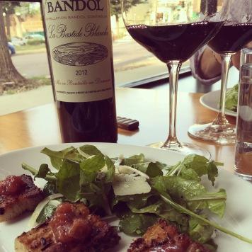 Restaurant Alma's exquisite food and wine