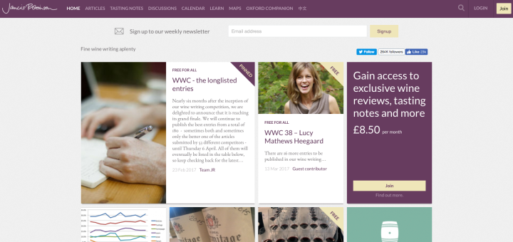 Front Page of jancisrobinson.com 03_13_17